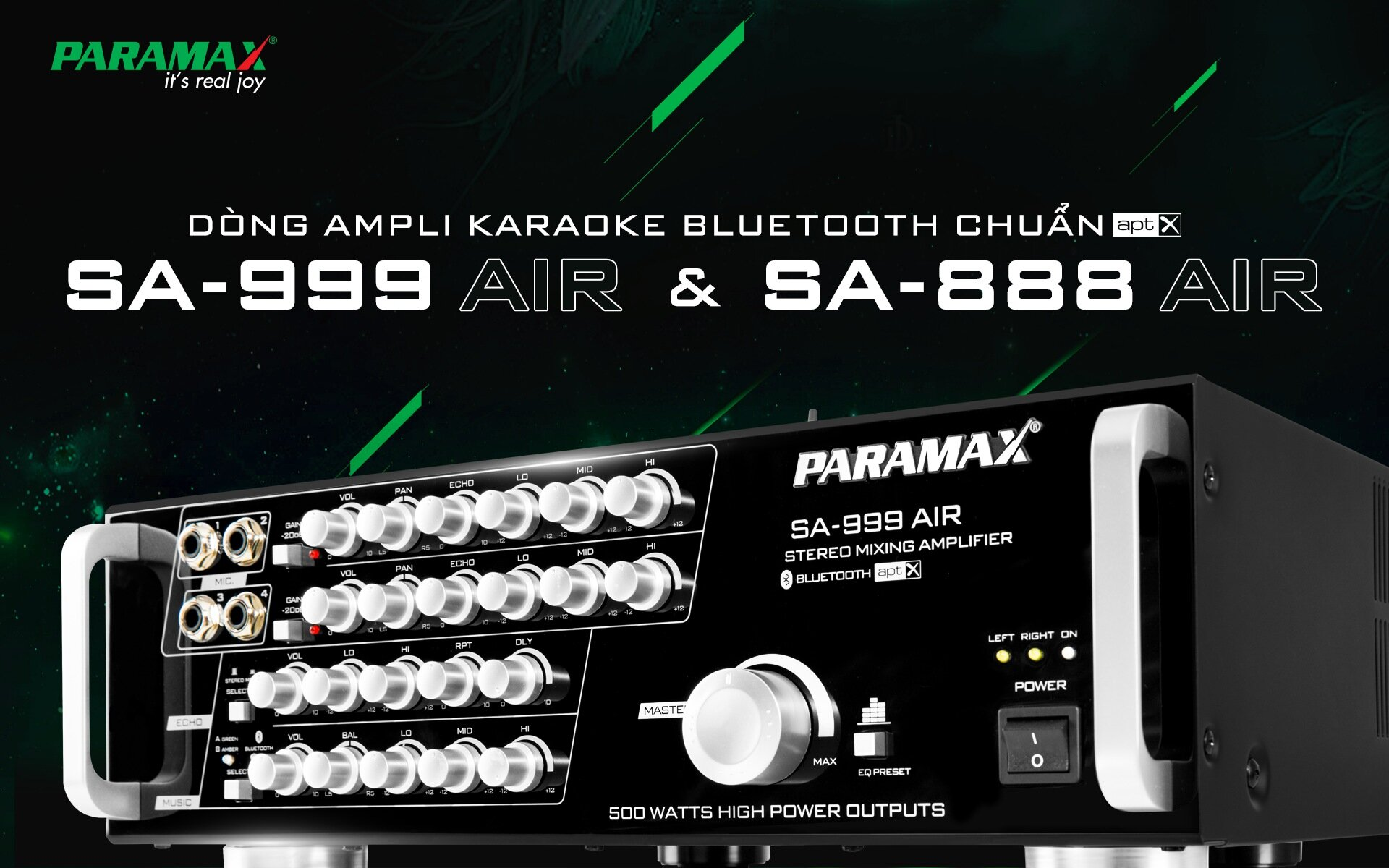 Amply Karaoke Paramax SA888 Air New 2018