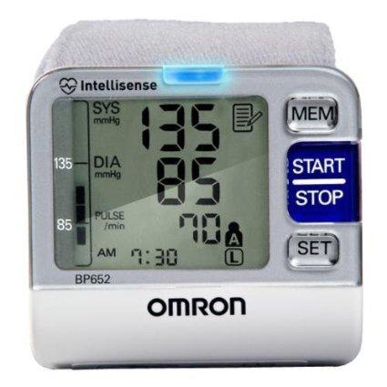 Máy có thể đo huyết áp tâm thu, huyết áp tâm trương và nhịp tim cùng lúc