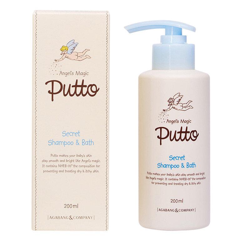 Sữa tắm gội cho bé Putto Secret Shampoo & Bath