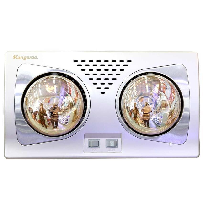 Đèn sưởi nhà tắm Kangaroo KG256 - 2 bóng