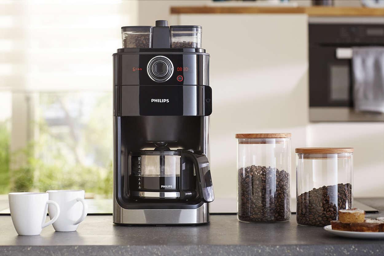 Máy pha cà phê Philips sẽ không làm bạn thất vọng bởi thiết kế tuyệt hảo