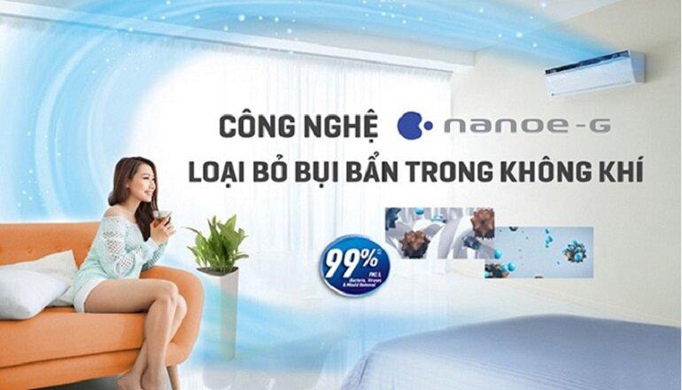 chế độ nanoe-g của điều hòa panasonic
