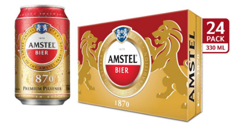 Giá bia Amstel 2019 bao nhiêu tiền ?