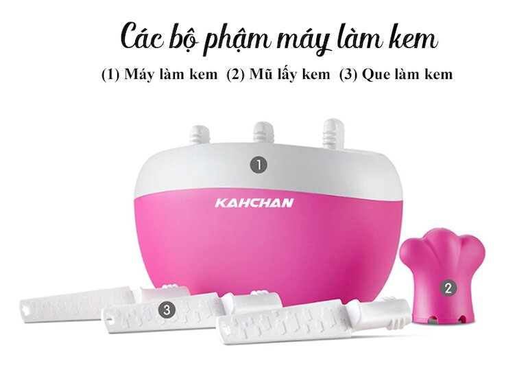 Máy làm kem Kahchan