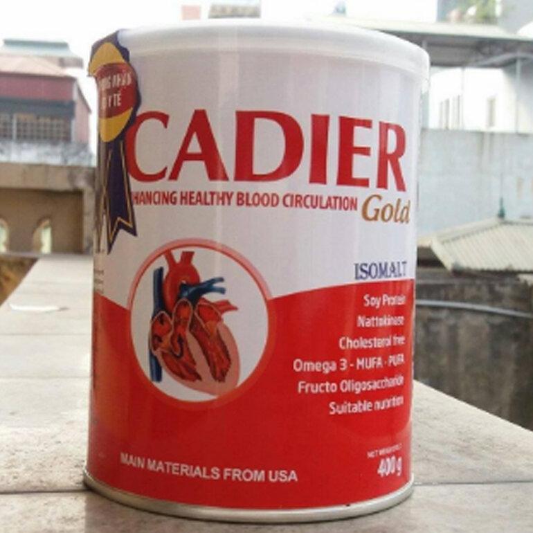 Sữa Cadier Gold 400g của Viện dinh dưỡng