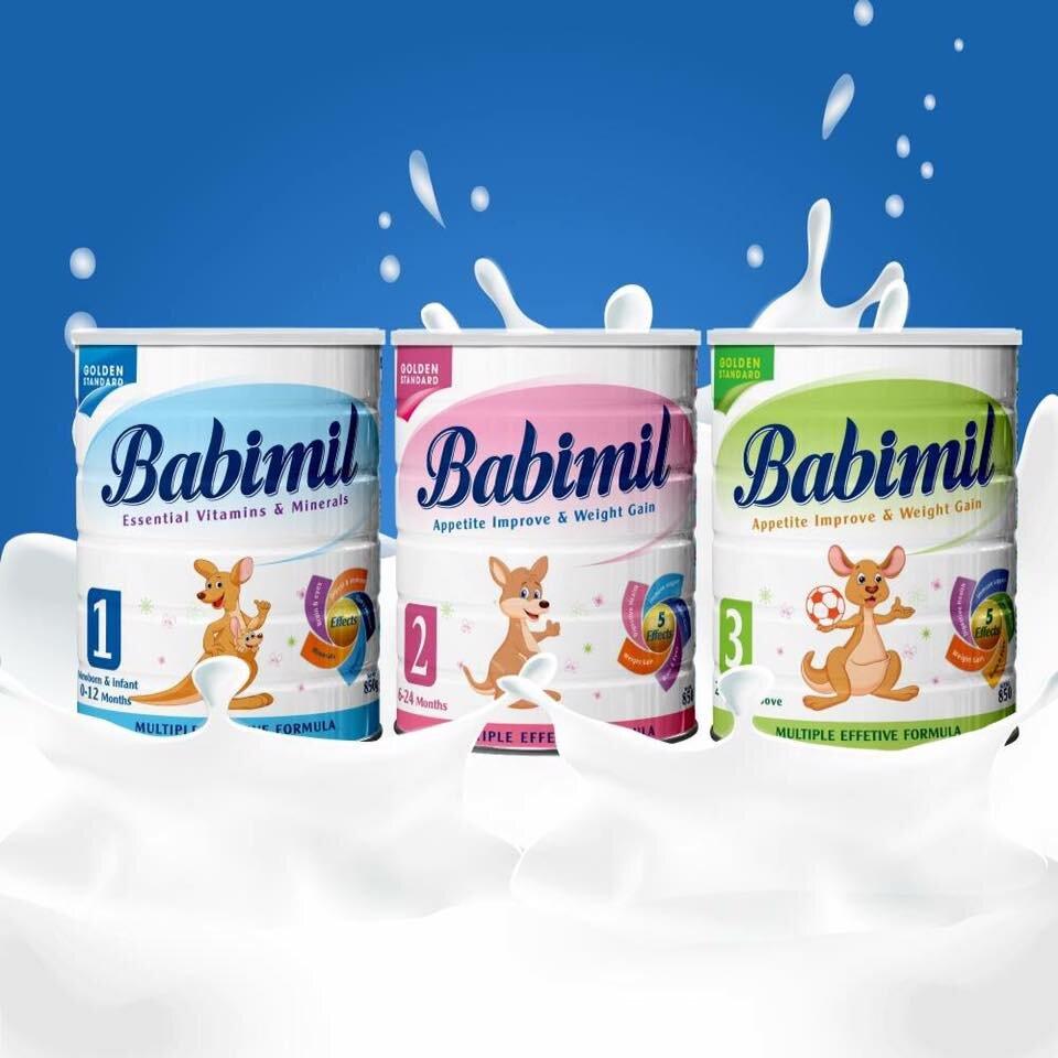 Babimil Kao - sự lựa chọn hoàn hảo cho bé phát triển chiều cao và tăng cân dần đều