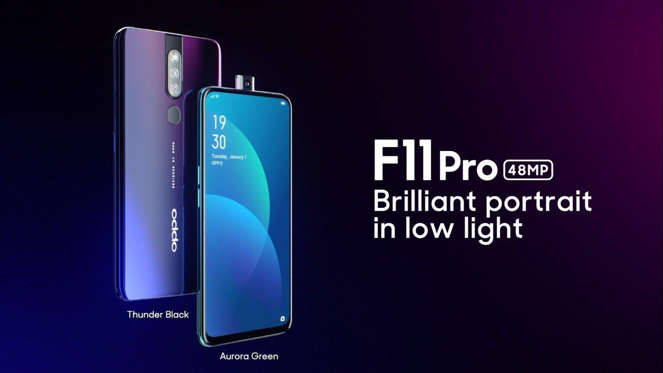 Oppo F11 Pro được phối màu cực đẹp mắt