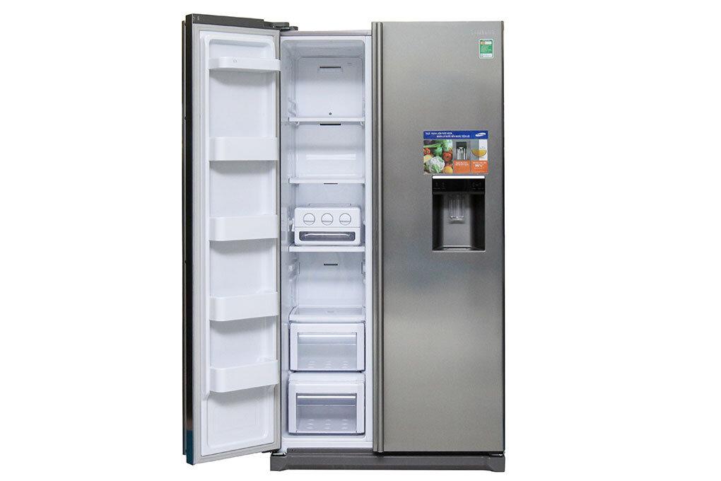 Tủ lạnh công nghệ inverter của Samsung với thiết kế gọn gàng