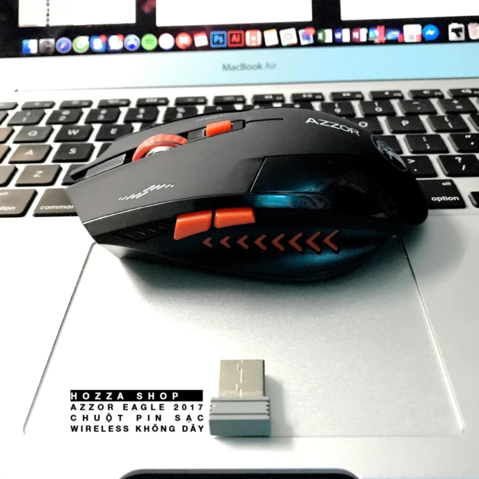 Chuột không dây Gaming Azzor Eagle