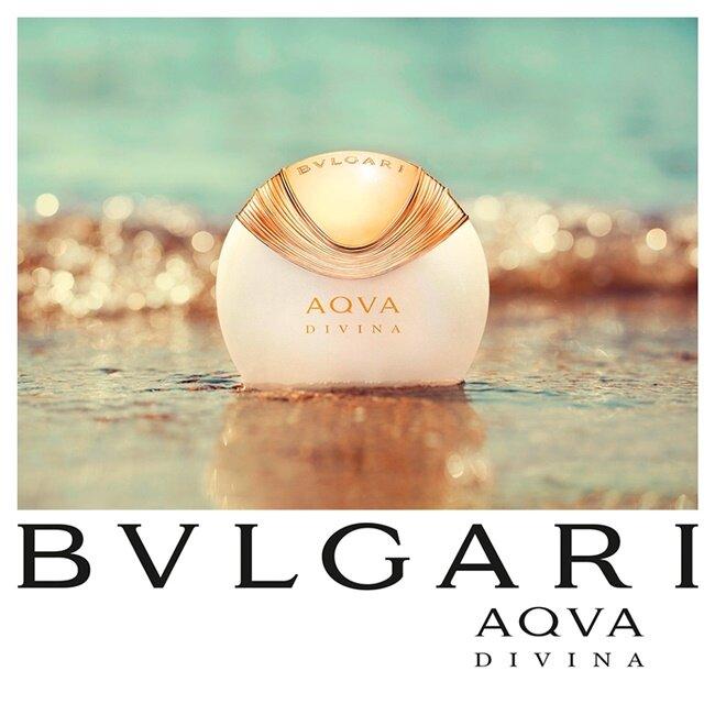 Chai nước hoa Aqva Divina Bvlgari for women dành cho nữ được lấy cảm hứng từ bức tranh The Birth of Venus - Sự ra đời của thần Vệ nữ