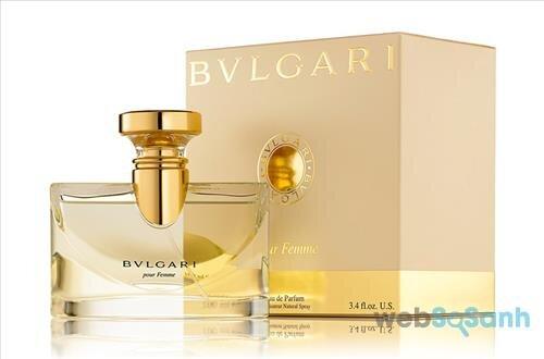 Nước hoa nữ Bvlgari Pour Femme có thiết kế vô cùng đẹp mắt và sang chảnh