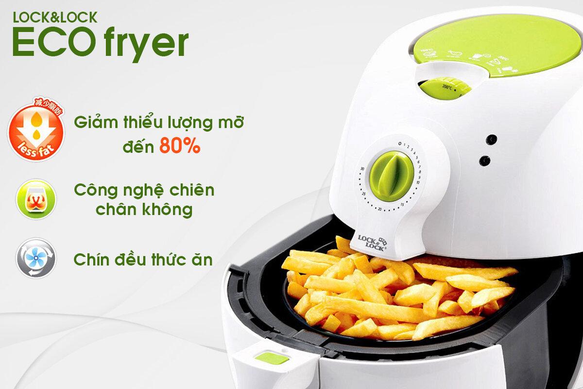 Nồi chiên không dầu Lock&Lock Eco Fryer LO-ECF.
