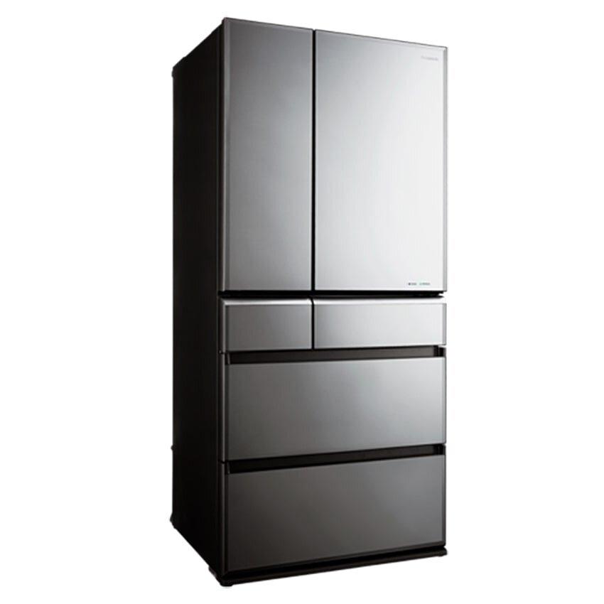 Tủ lạnh Panasonic 6 cánh thiết kế sang trọng, phù hợp phân khúc khách hàng có thu nhập cao