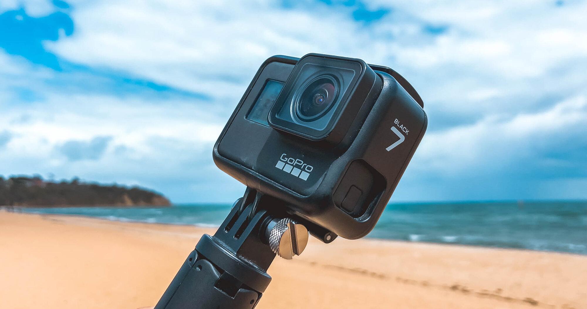 GoPro Hero 7 Black có khả năng chống nước cực kỳ vượt trội