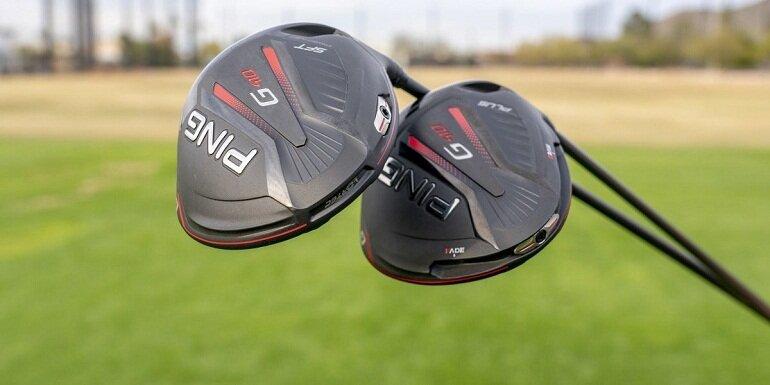 Mặt gậy golf Ping có thiết kế nhẹ mỏng, độ dài phù hợp có tác dụng hỗ trợ phát bóng với tốc độ nhanh