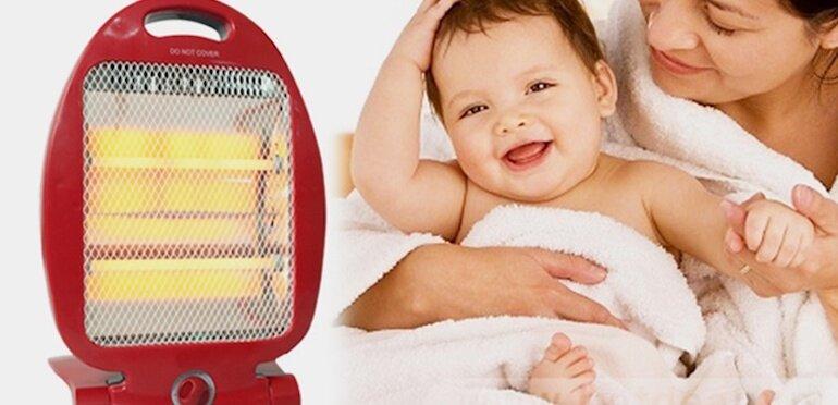 Cách sử dụng đèn sưởi cho trẻ sơ sinh an toàn và đúng cách