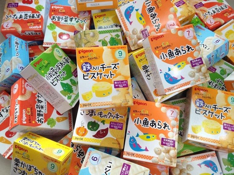Bánh ăn dặm của Nhật được nhiều mẹ tin tưởng lựa chọn