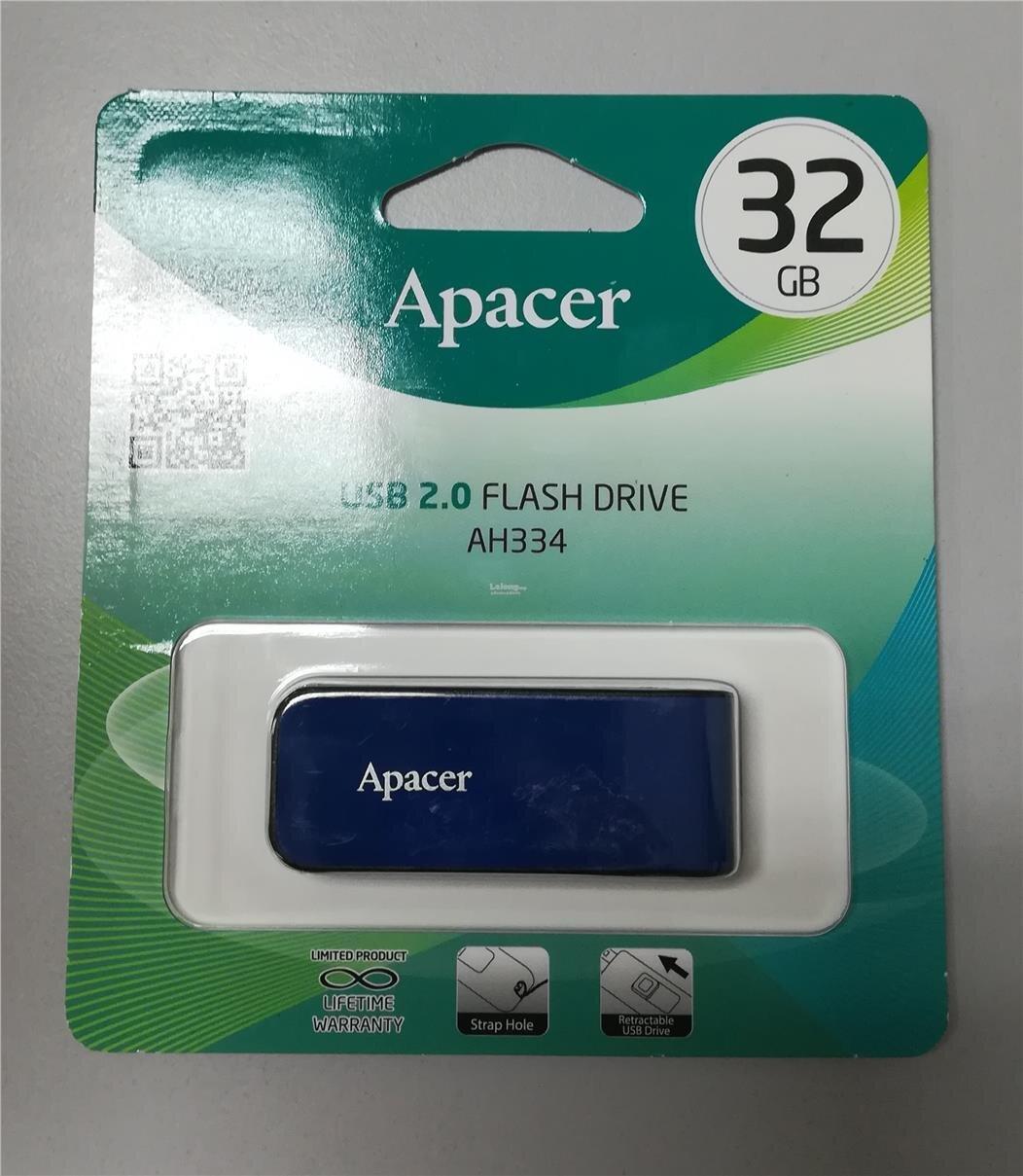 Nguyên hộp USB 2.0 Apacer AH334 trên thị trường (Nguồn: c.76.my)