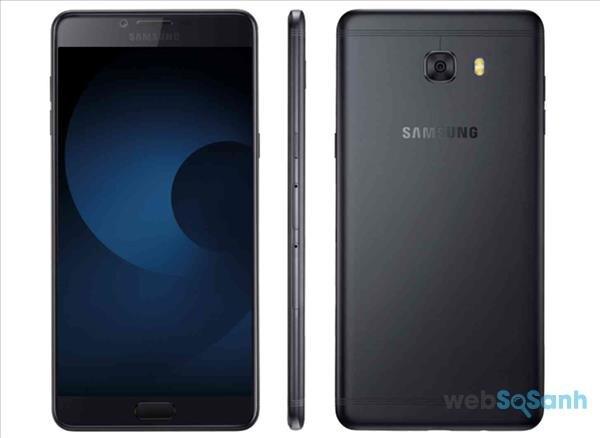 Samsung Galaxy C9 Pro phiên bản màu đen
