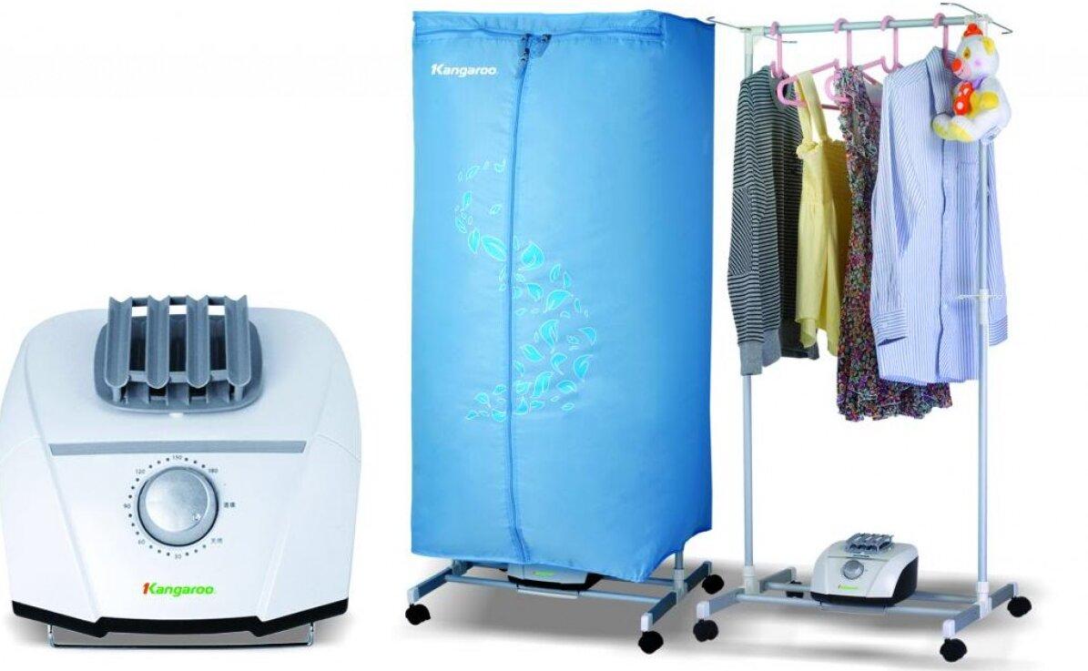 Máy sấy áo quần Kangaroo rất an toàn khi sử dụng