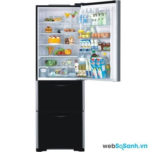 Tủ lạnh Hitachi SG31BPGGBK/BW/GS thiết kế 3 cửa độc đáo