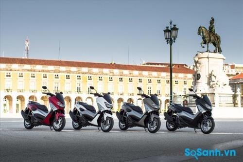Yamaha NMAX có tới 4 màu cho bạn lựa chọn