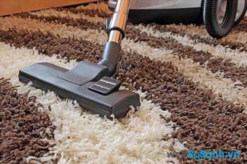 Máy hút bụi phù hợp sẽ giúp làm sạch thảm trải sàn một cách hiệu quả