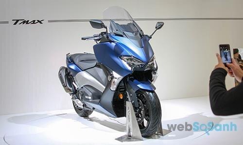 Xe tay ga phân khối lớn Yamaha TMAX 2017
