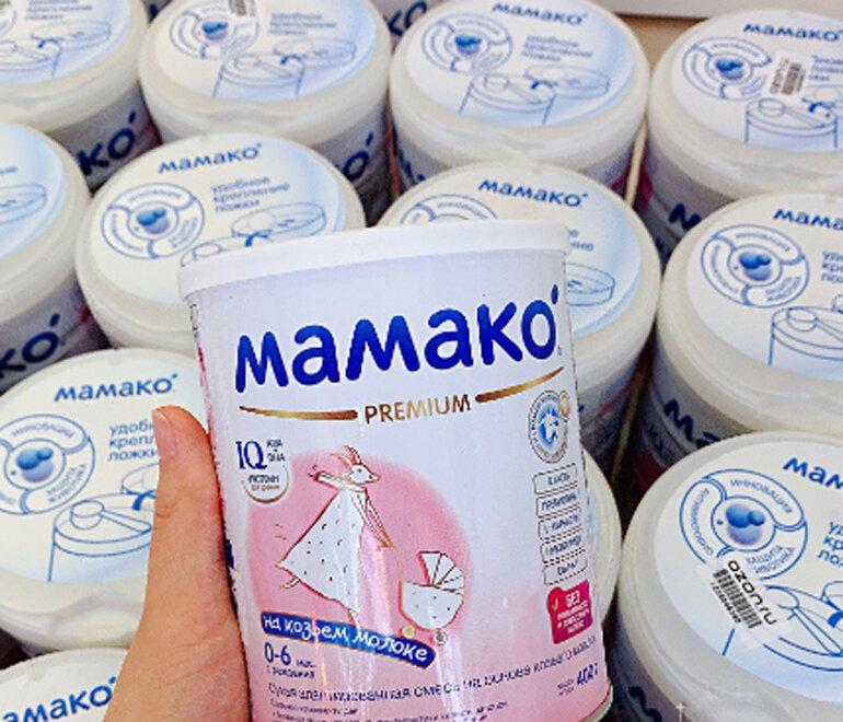 Sữa dê Nga Mamako