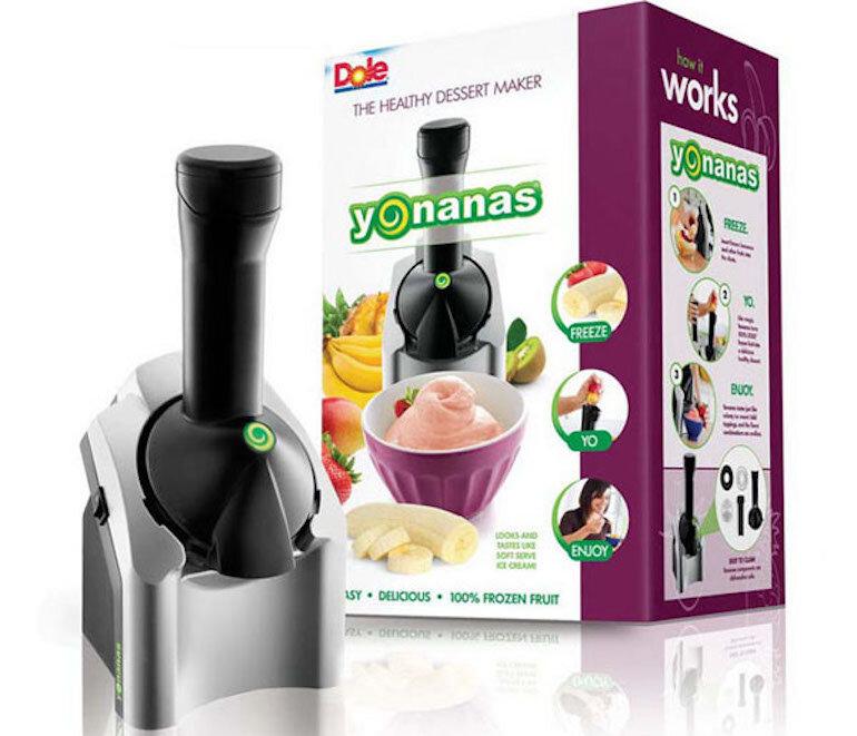 Máy làm kem Yonanas có thiết kế đơn giản và dễ dàng sử dụng