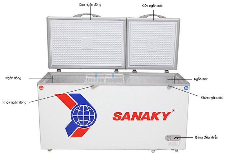 Tủ đông Sanaky 400 lít VH-5699W3