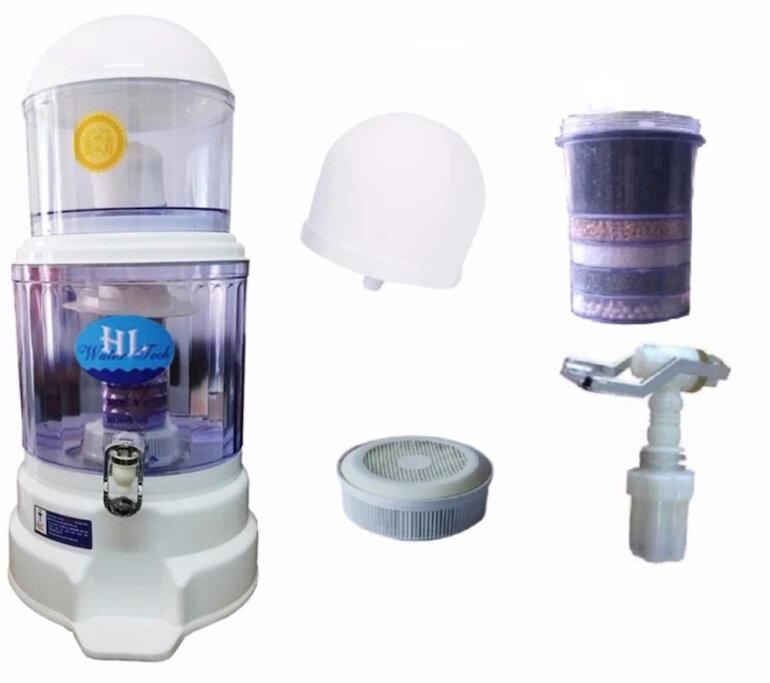 Khả năng lọc nước của bình lọc nước uống trực tiếp Hưng Long