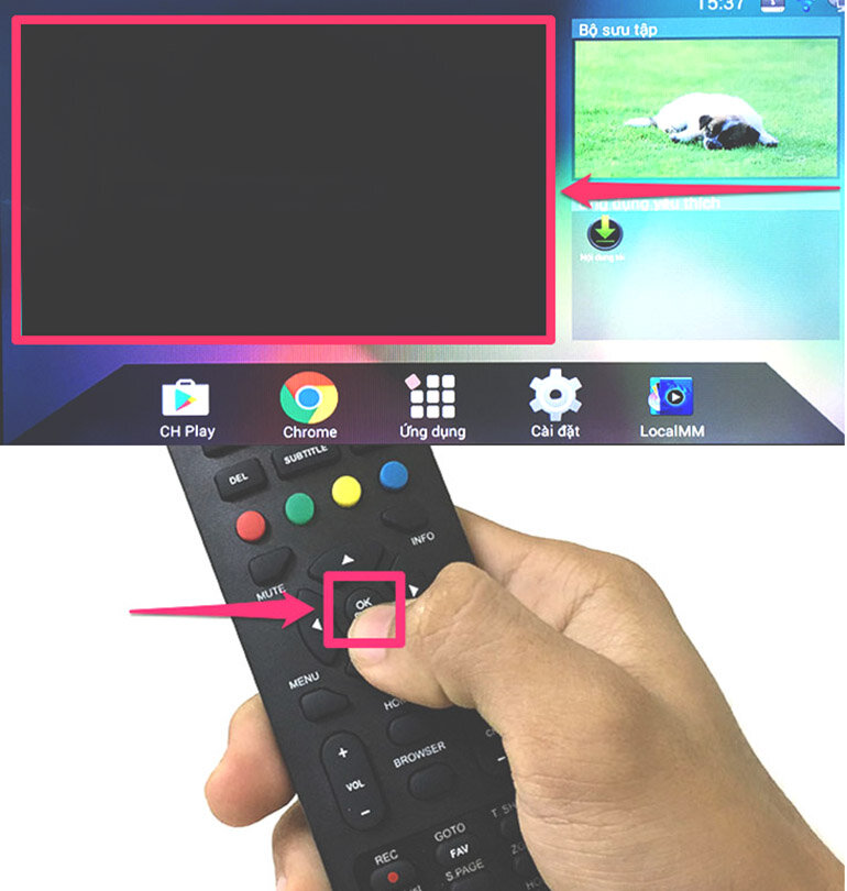 Hướng dẫn dò kênh trên smart tivi Asanzo 2018