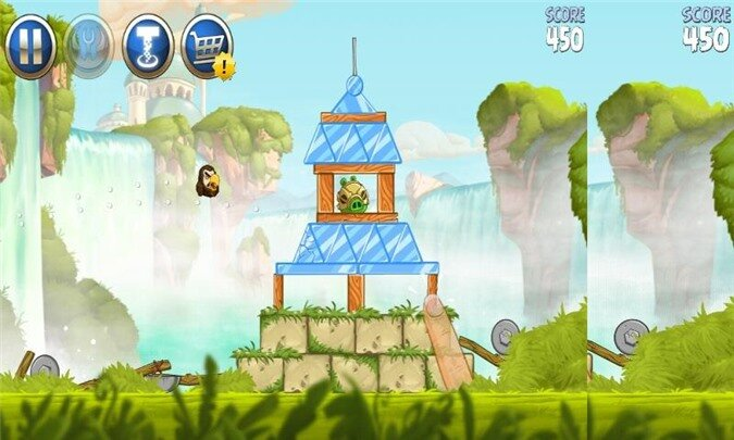 Thoải mái chiến game Angry Birds