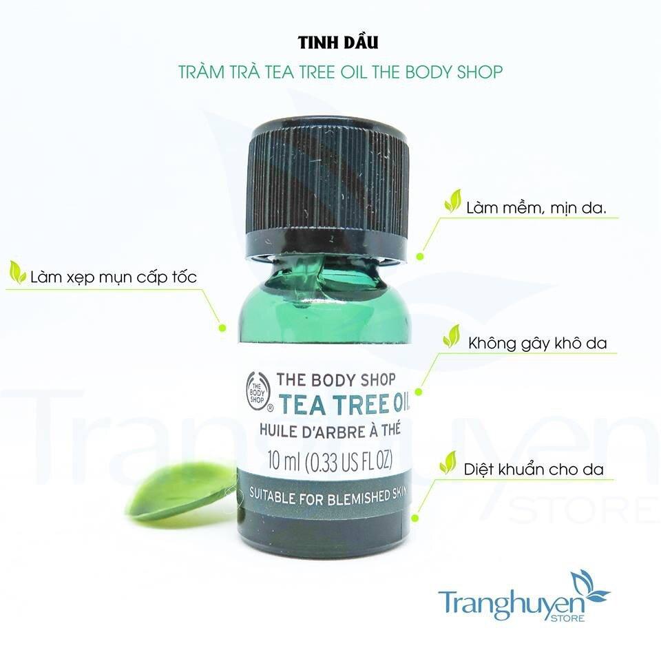 Tác dụng của tinh dầu tràm trà