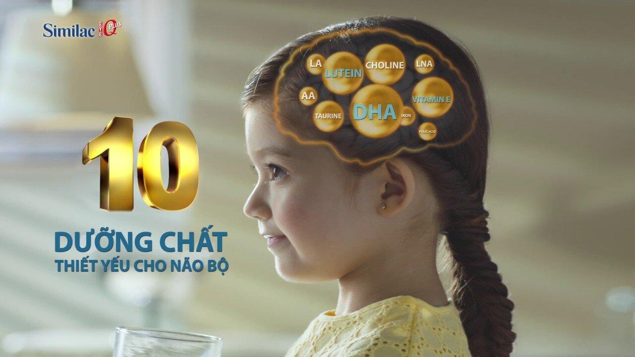Similac IQ tăng cường những dưỡng chất thiết yếu cho não bộ của trẻ