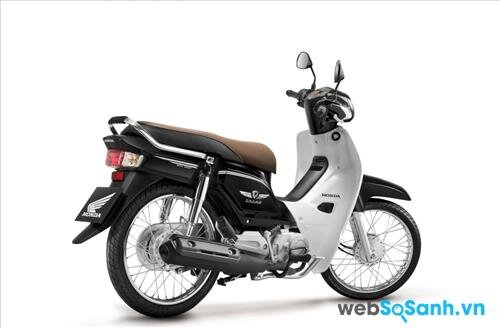 Honda Dream 2015 có thêm màu đen