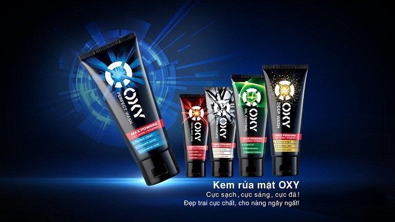 Sữa rửa mặt cho nam OXY