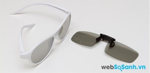 Hai mẫu kính 3D đi kèm quen thuộc của LG