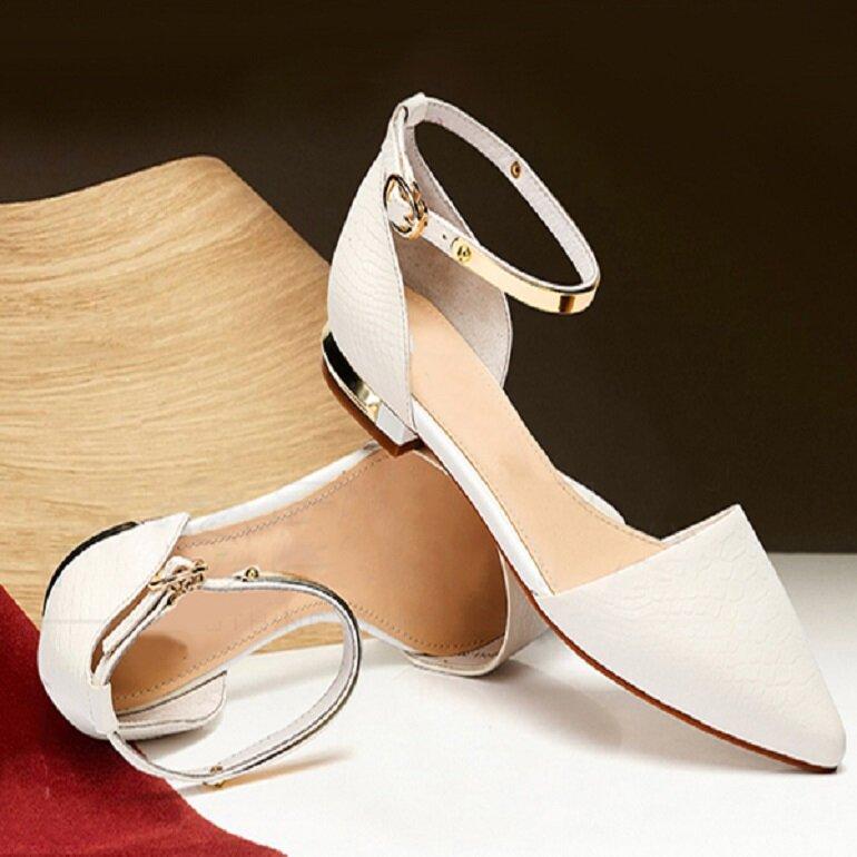 giày búp bê nữ mũi nhọn