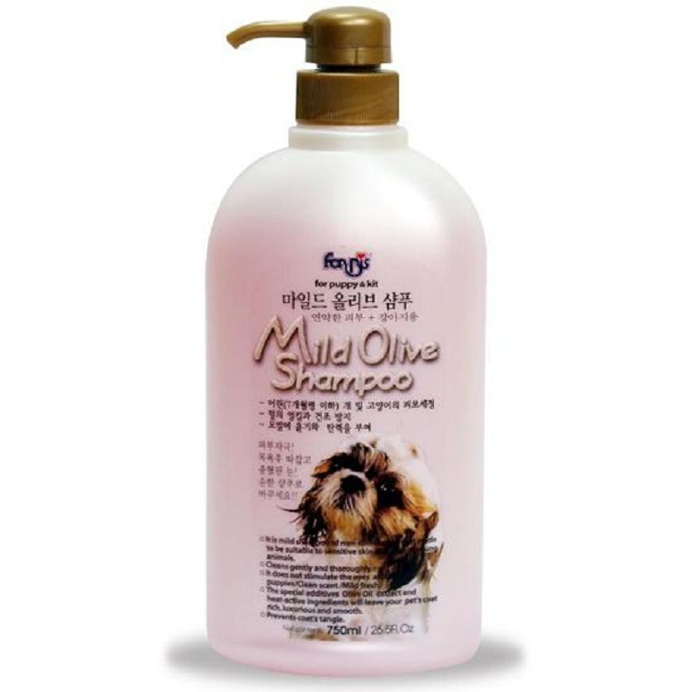 Sữa tắm cho chó con Forris Mild Olive Shampoo