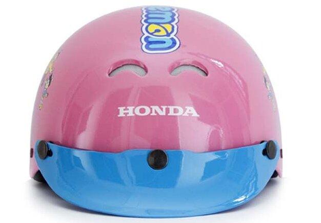 Mũ bảo hiểm trẻ em Honda Doraemon hồng bảo đảm an toàn cho bé