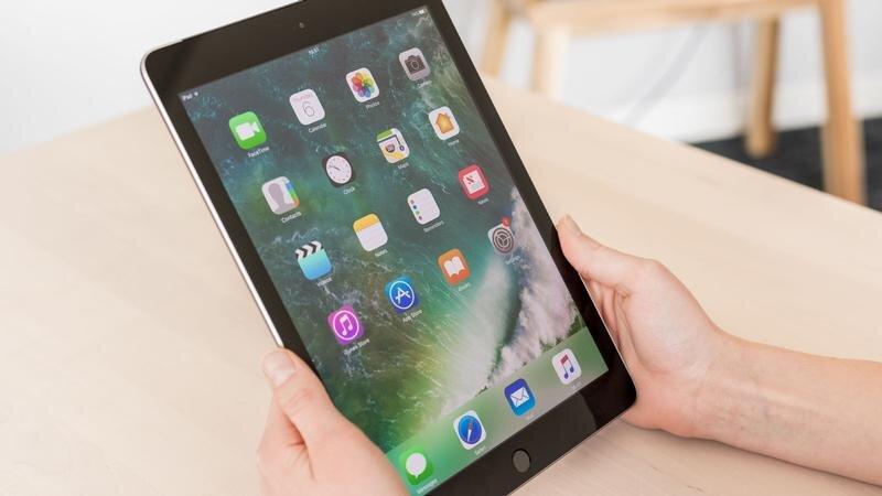 iPad New 2017 được trang chip A9 (64-bit), 2 nhân 1.85GHz