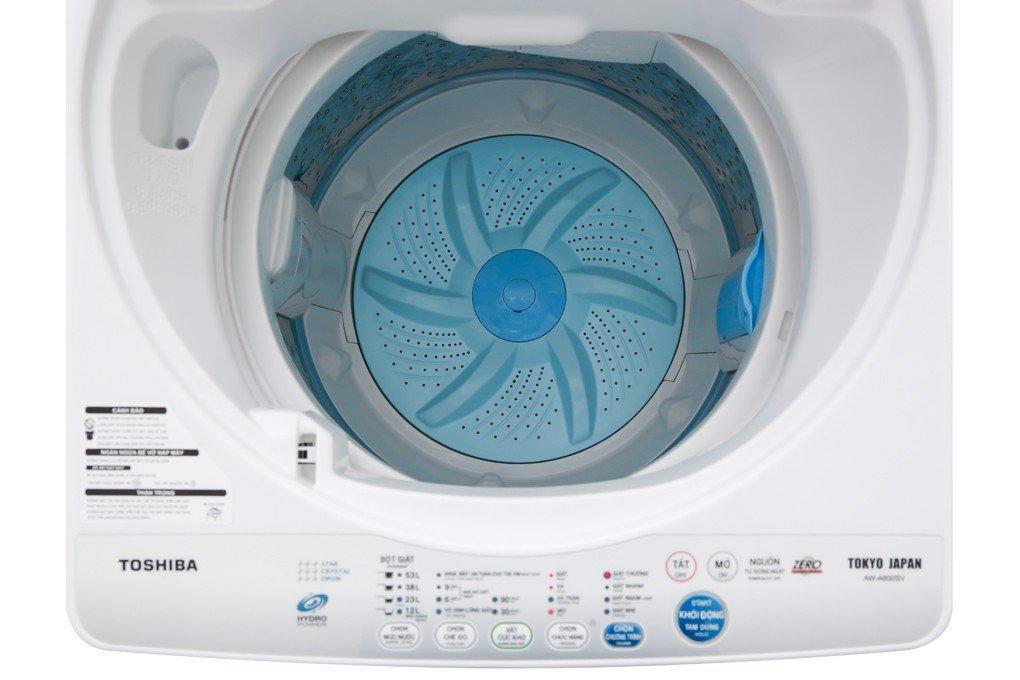 Máy giặt Toshiba 7kg có lồng giặt Hybrid