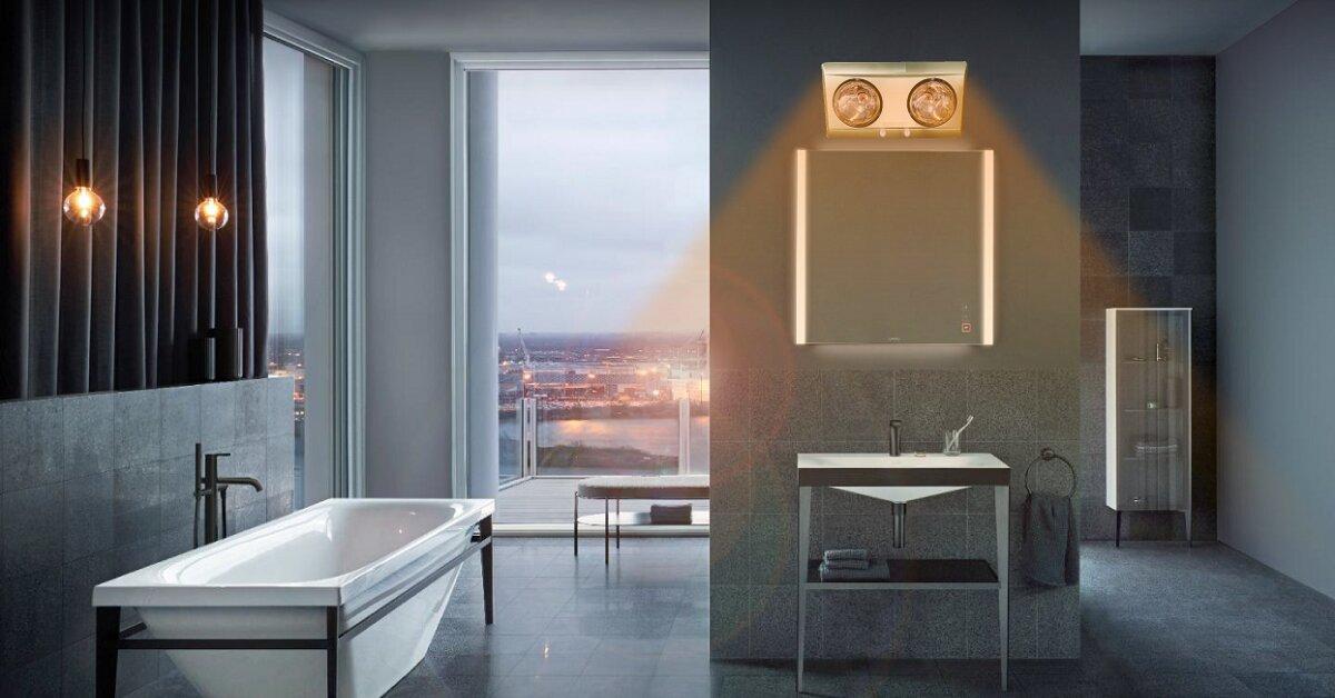 3 tác hại khó lường của đèn sưởi nhà tắm bạn nên biết