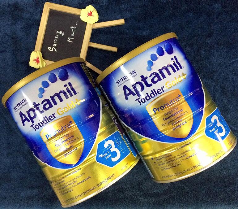 Sữa Aptamil Gold Úc hỗ trợ dinh dưỡng cho bé (Nguồn: sunnymart.vn)