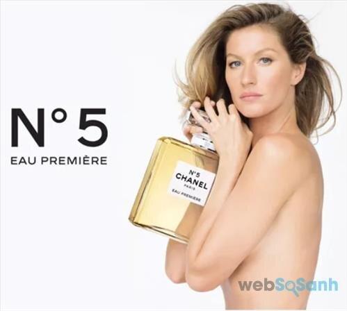 Nước hoa Chanel Nº5 Eau Première thuộc nhóm hương hoa cỏ Aldehyde với phong cách trang nhã, quyến rũ và quý phái
