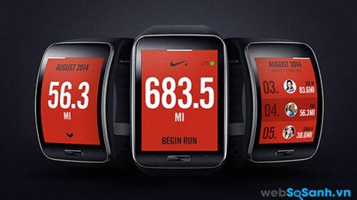 Ứng dụng Nike +. Nguồn Internet