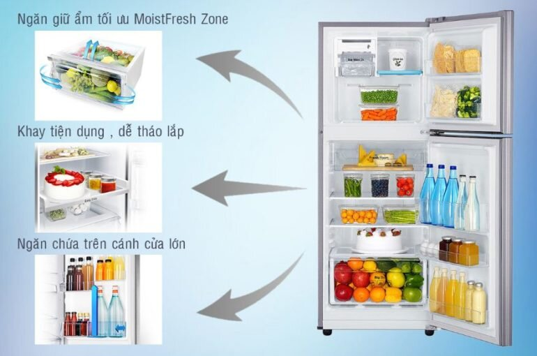Tủ Lạnh Inverter Samsung RT20K300ASE (208L)