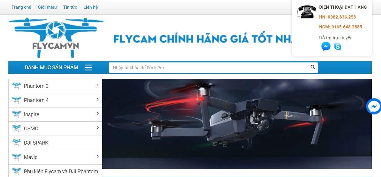 flycamvn.com bán hàng flycam chính hãng